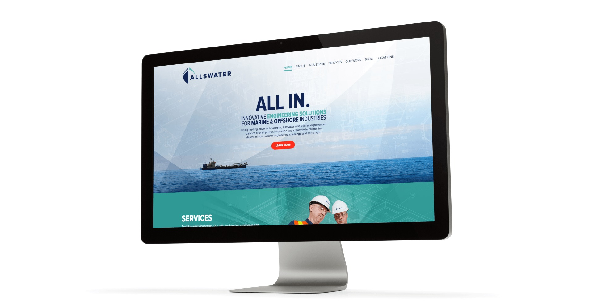 Allswater website design