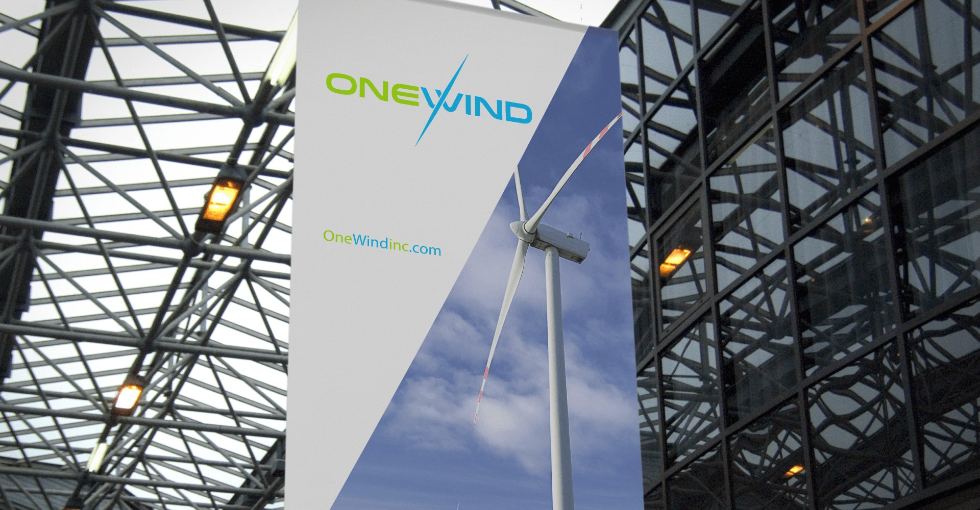 One Wind Large print ad, Windmill