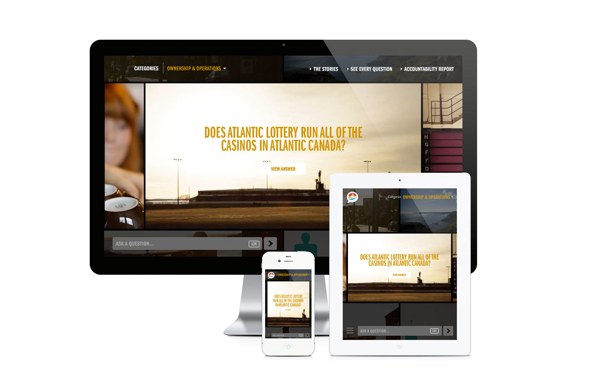 Atlantic Loto Web design