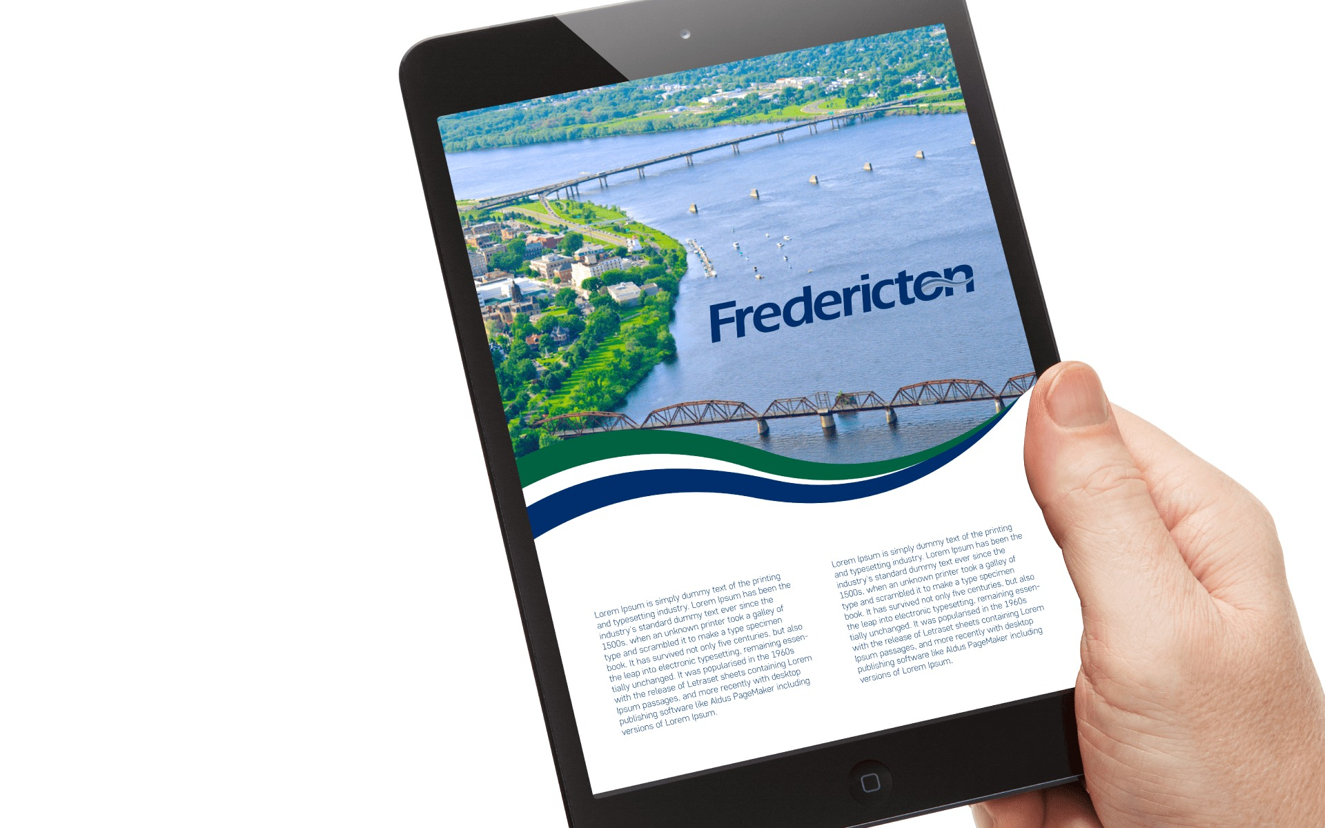 Fredricton digital advertisement