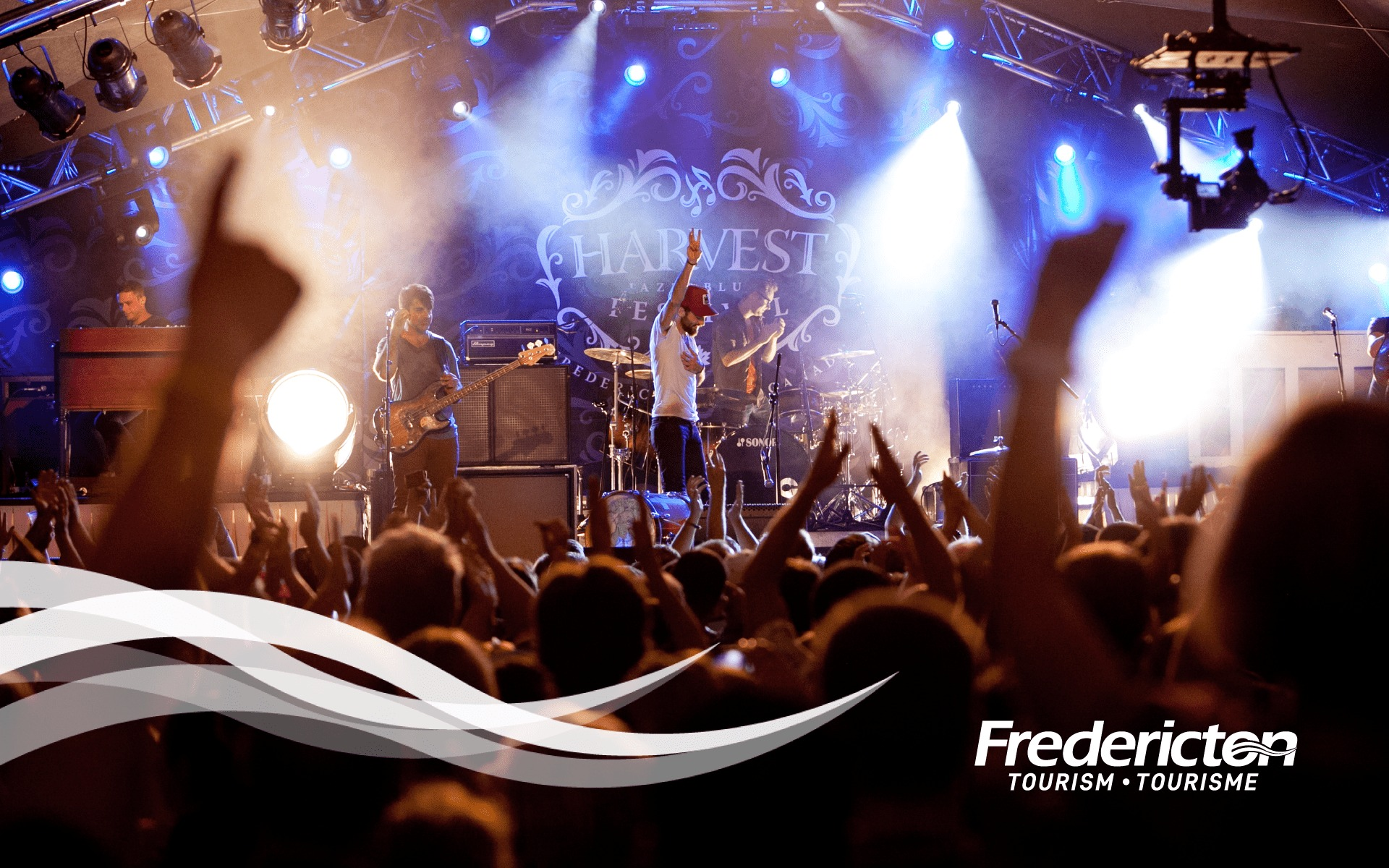 Fredericton Tourism concert Advertisement