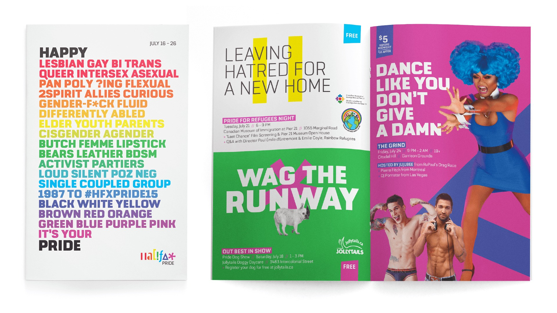 Halifax Gay Pride print ads