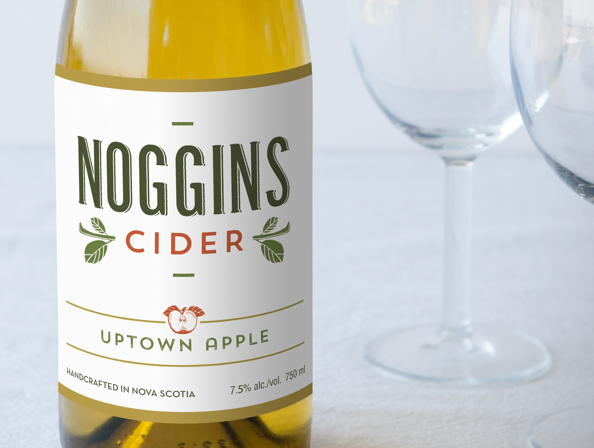 Noggins Cider Bottle - Uptown Apple