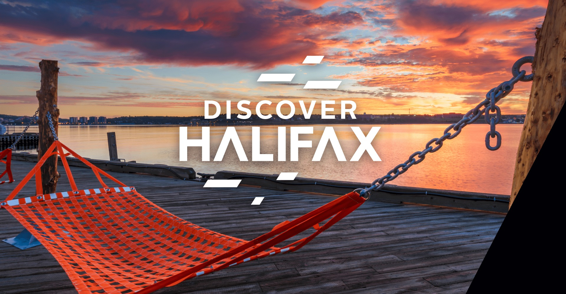 Discover Halifax waterfront hammocks