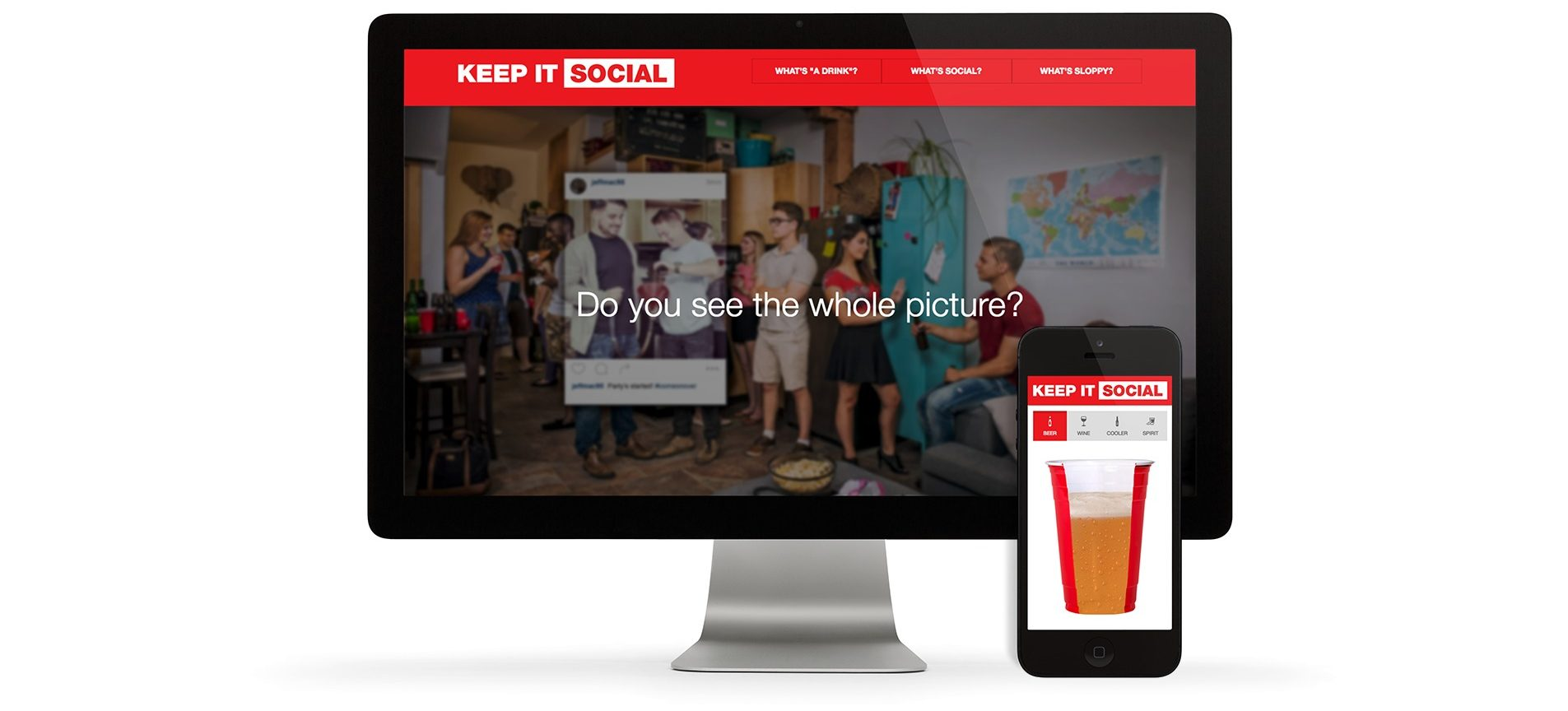 NSLC Keep it social website and digital app