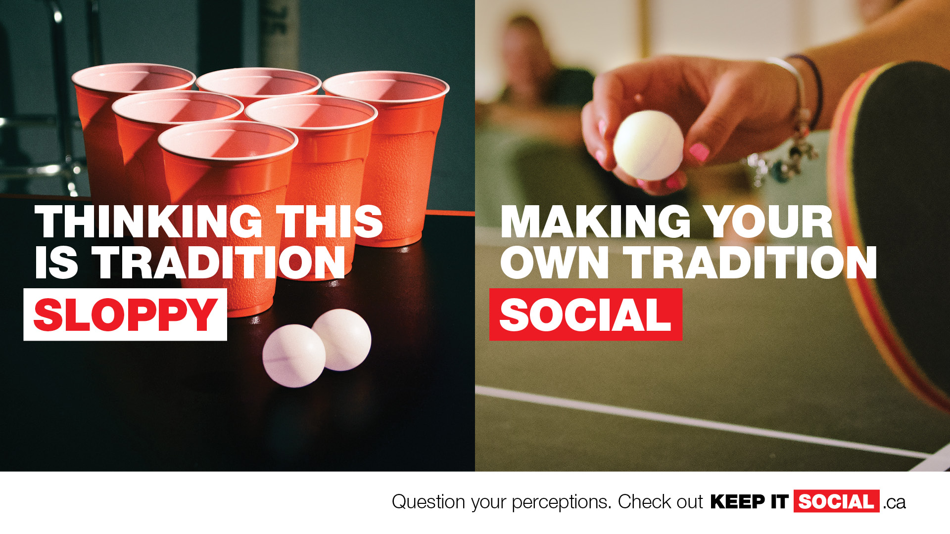 NSLC keep it social campaign